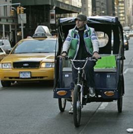 Voice of  America - becak New York