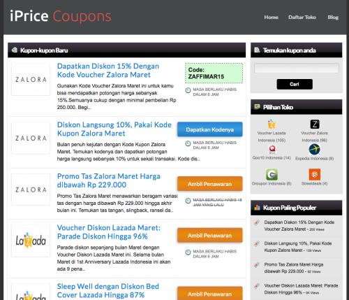 Kode voucher dan kode kupon diskon di Indonesia | iPrice Coupons 2014-03-31 18-32-01